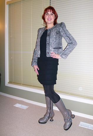 Everyday Outfit November 29, 2011, RACHEL Rachel Roy, Moon Fluevog Cutie Pie